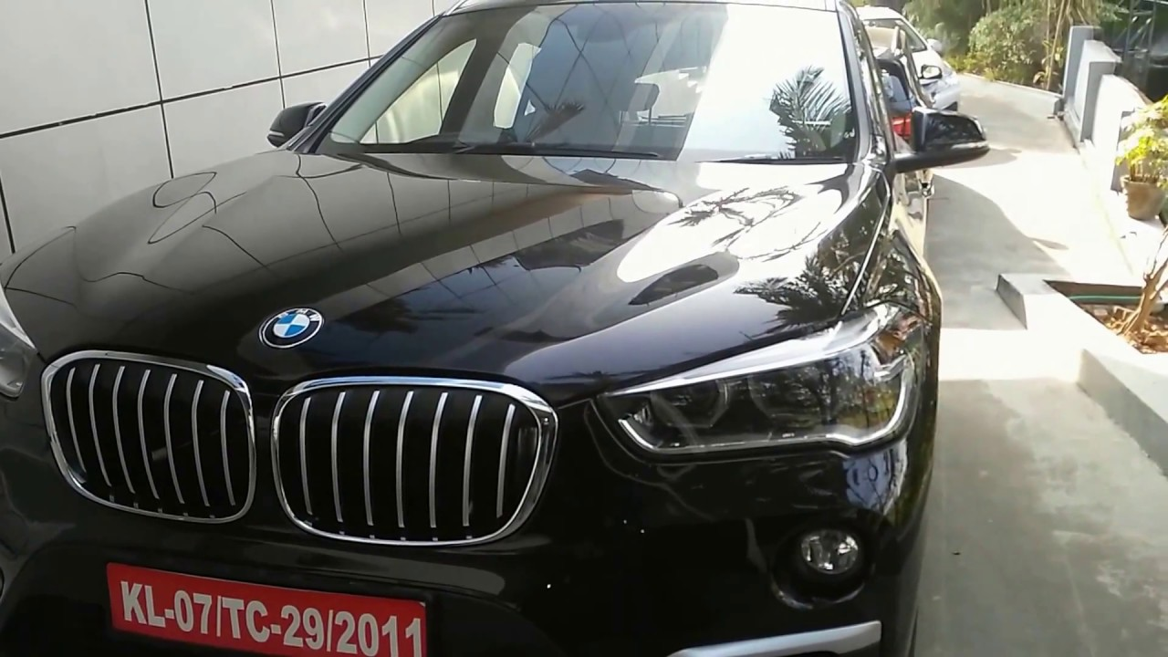 Bmw X1 Black Facelift Exterior And Interior 2017 Youtube
