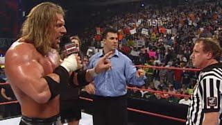 Triple H Vs. Chris Jericho  - Wwe Championship Match: Raw, April 17, 2000