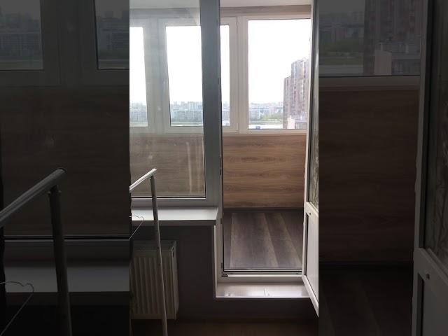 Смотреть видео Теплый балкон - Европейский дом. 8