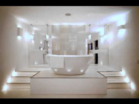 Led bathroom light design ideas - YouTube