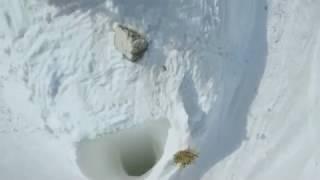 Incroyable descente en ski! Il ne respecte RIEN!