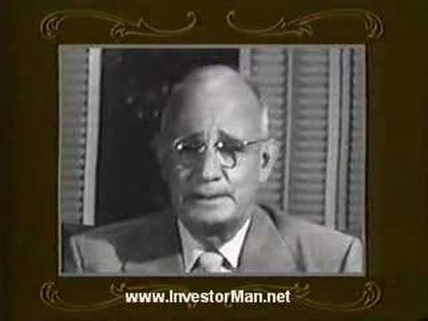 "Napoleon Hill talks about ""The Secret"" to Think & Grow Rich"