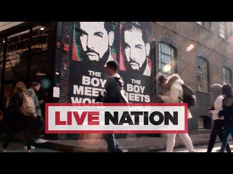 Drake: The Boy Meets World UK Tour Mural | Live Nation UK