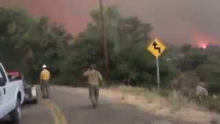 New videos released from deadly Yarnell Hill Fire (2)