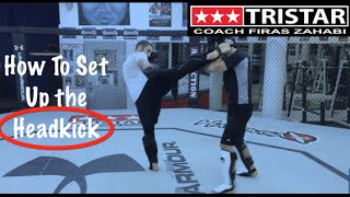 How to Fight: Setting Up the Head kick with Coach Firas Zahabi