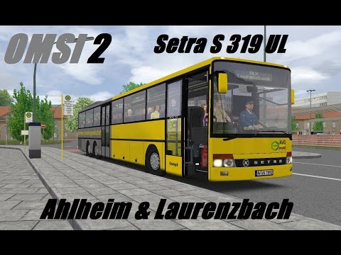 OMSI 2. Ahlheim & Laurenzbach, Line ALX, Setra S 319 UL. Part 1