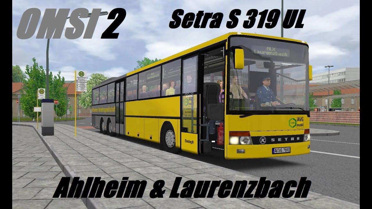 OMSI 2  Ahlheim & Laurenzbach, Line ALX, Setra S 319 UL  Part 1