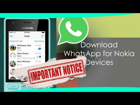 All About WhatsApp 🔥 Downloading In Nokia 216 (Nokia Phones).