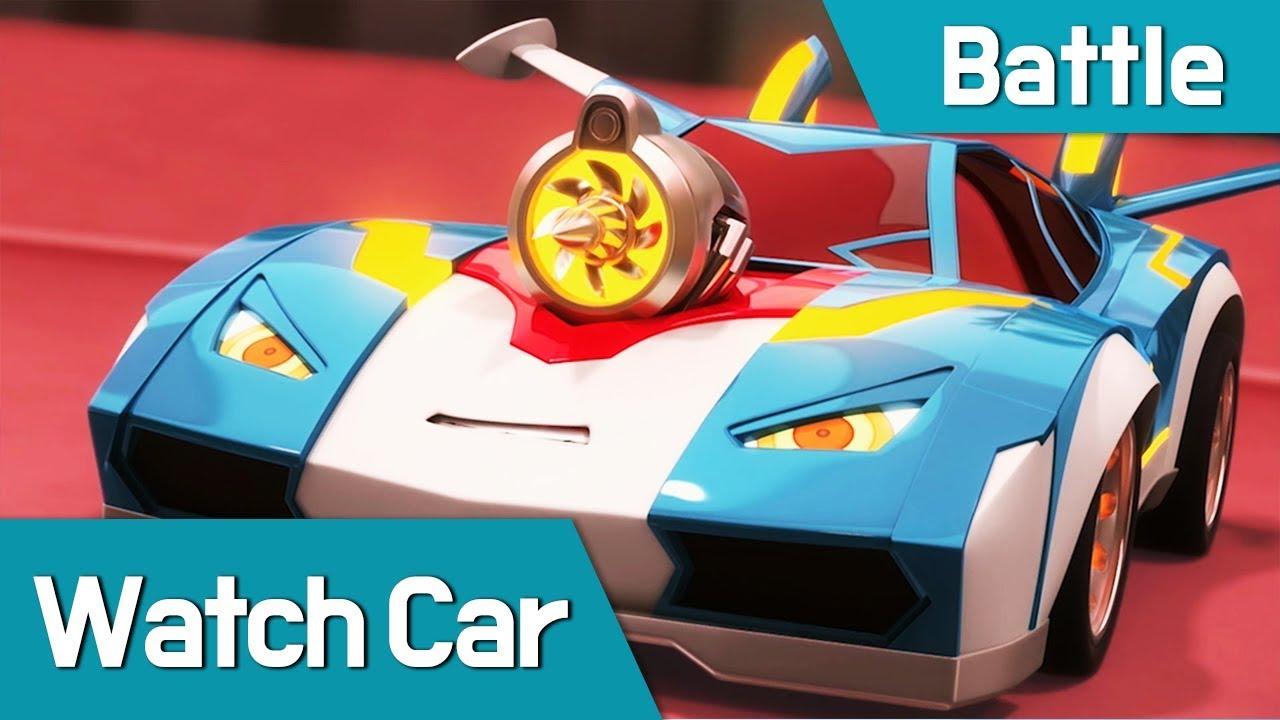 [Watch Car Battle Scene11] Bluewill VS Jackie
