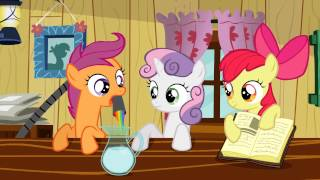the cutie mark crusaders make a love potion my little pony friendship is magic season 2