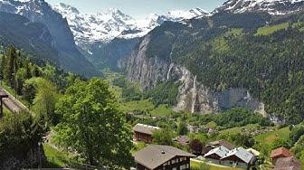 Bergwelten - Urlaub in der Schweiz Teil 1 (Wengen Stockhorn Beatushöhlen Thun Brienz Schilthorn)