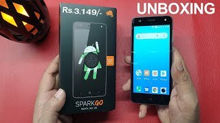 Micromax Spark Go 4G Android GO Mobile Phone Unboxing: in Telugu ~ Tech-Logic