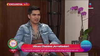 ¡Ulices Chaidez con paso firme en el regional mexicano! | Sale el Sol