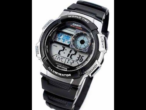 89b906958ce 1 Unboxing Casas Bahia - relógio Casio AE-1000W-1BVDF - YouTube