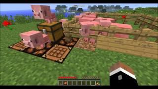 [ Minecraft ][ TUTO 2 ] comment monter et conduire un cochon