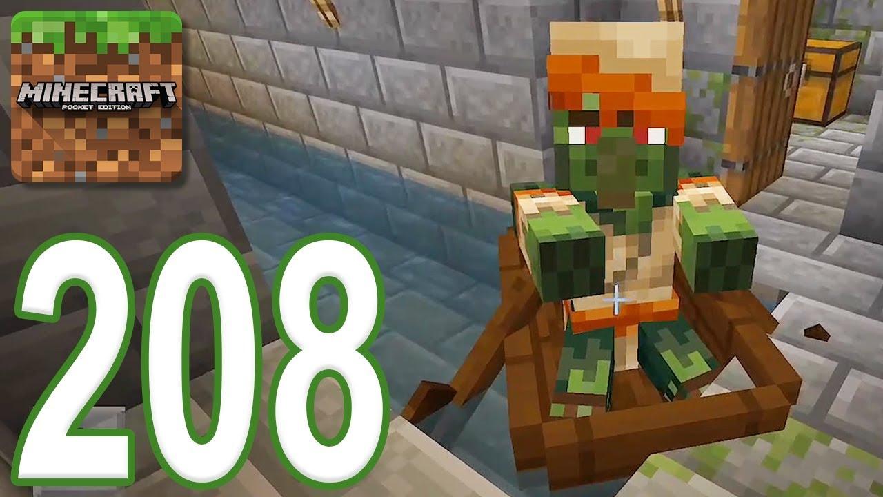 Minecraft Pe Gameplay Walkthrough Part 208 Escape The