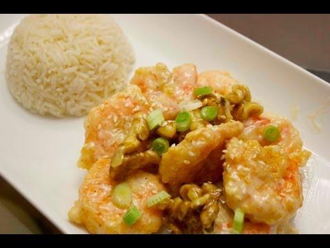 how to make walnut shrimp