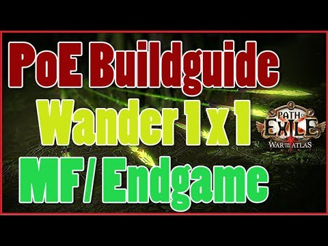 [3.2] Build Guide - MF Wander Pathfinder Kinetic Blast / Barrage  - Path of Exile [Deutsch]