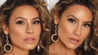 HOT NEW TECHNIQUE: USING TRANSLUCENT LOOSE SETTING POWDER - GLOW | DESI PERKINS