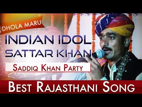 Indian Idol Sattar Khan   Neenderli   Musafir   Dhola Maru   Rajasthan Gypsies   Roots Of Pushkar