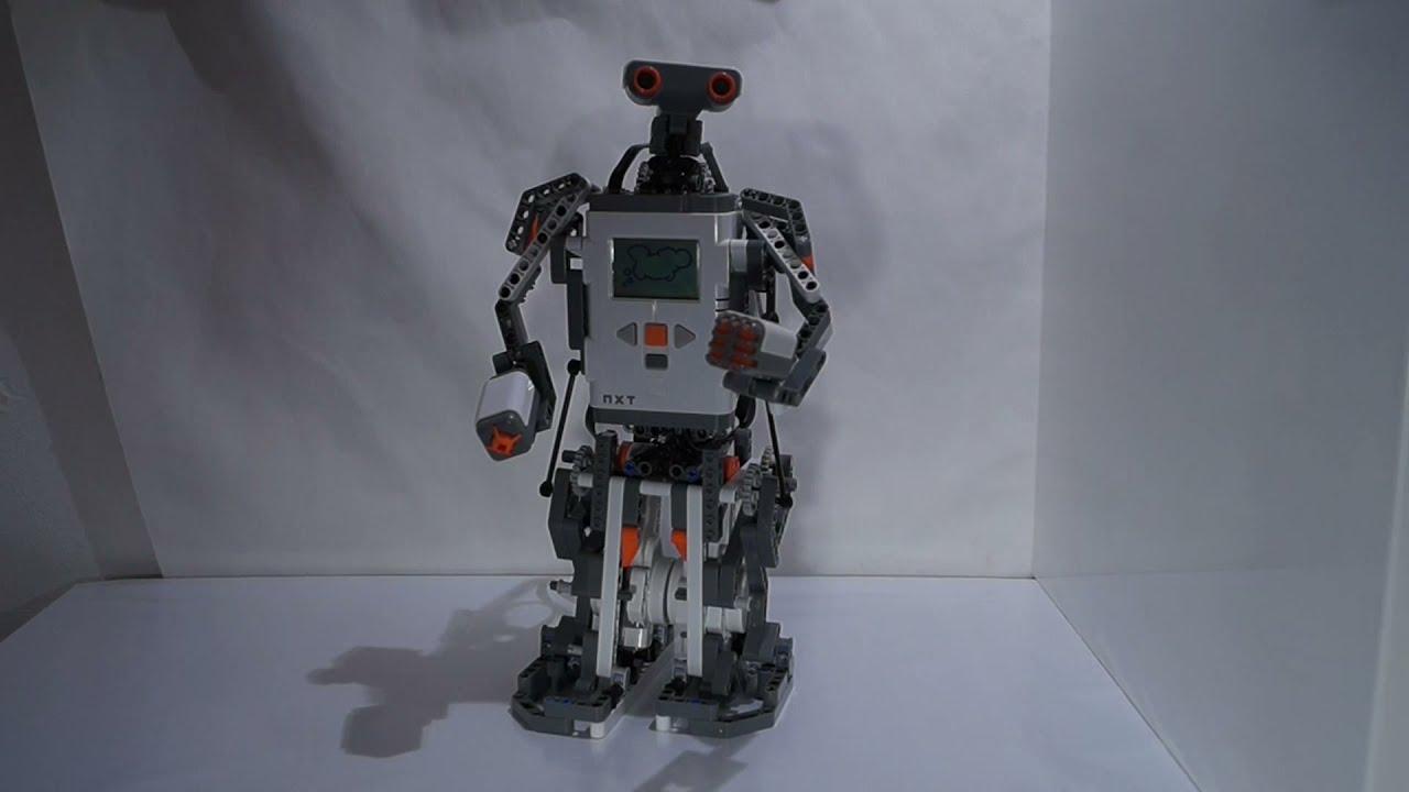 Lego Alpha Rex Nxt Mindstorms Robotter Bauanleitung Lego Nxt Mindstorms Robot Build Instruction Youtube