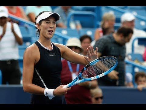 2017 Western & Southern Open Round 3   Garbiñe Muguruza vs Madison Keys   WTA Highlights