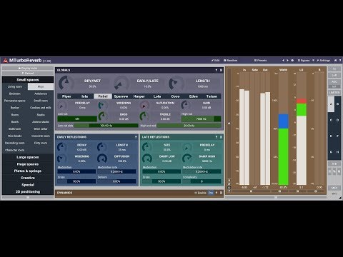 Reverb design using MTurboReverb #5 - The complex and powerful algorithms