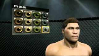 EA SPORTS MMA Create-A-Fighter Tutorial