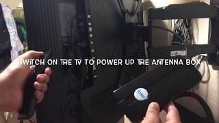 Digital Tv Antenna   Setup and Installation of Digital Tv Antenna   Funke Indoor Antenna