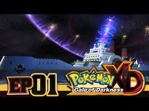 Pokemon: XD Gale Of Darkness #01 FLYING SHIPS?!?!
