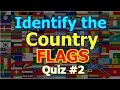 Can You Identify the Country Flags? | Fun With Flag #2