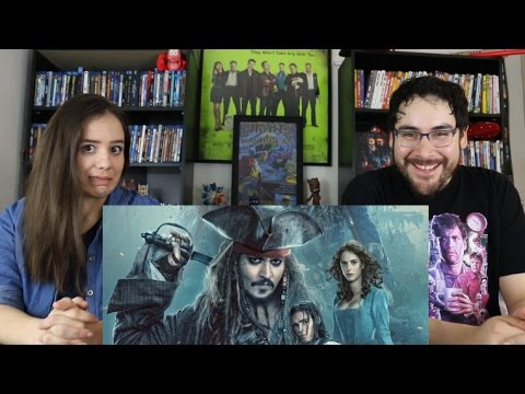 Pirates of the Caribbean DEAD MEN TELL NO TALES - New Trailer Reaction / Review