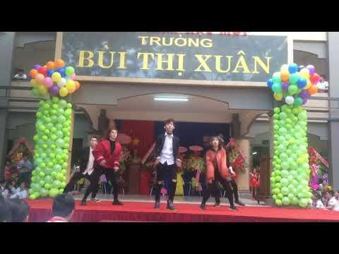 Nhảy hiện đại nhóm SOS  Trường Tiểu học  THCS   THPT Bùi Thị Xuân Biên Hòa