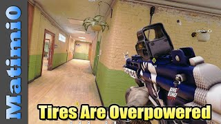 Tires are Overpowered. Please Nerf - Rainbow Six Siege
