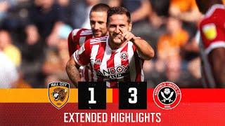 Халл Сити  1-3  Шеффилд Юнайтед видео