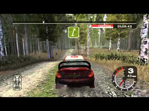 Colin McRae Rally 2005 Gameplay Played on XBox 360 (Xbox 1) [60 FPS]