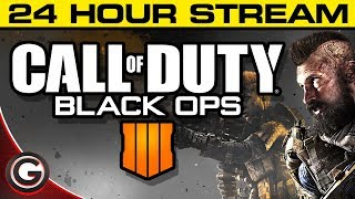 Call of Duty Black Ops 4 // 24 HOUR LIVE STREAM // PS4 Pro Live Gameplay Part 2