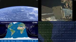 American Coastlines - NASA/ESA ISS LIVE Space Station With Map - 212 - 2018-10-16