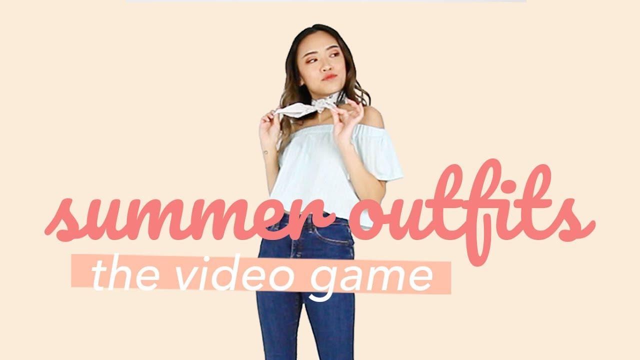 PLAY ME! I'M A VIDEO GAME (Summer Outfits) 8