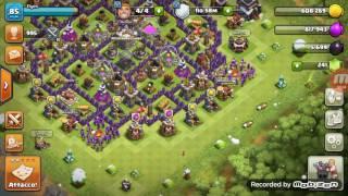 Scambio villaggio clash of clans con profilo clash royale min lv 10