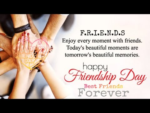 Happy Friendship Day 2020 Whatsapp Status Wishes Images Quotes Messages Video Fb Happyfriendshipday Youtube