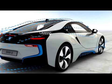 BMW i8 Aerodynamic new model car