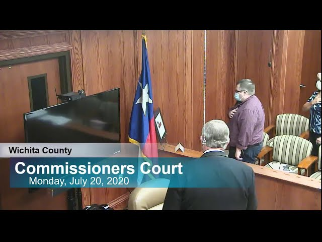 Commissioners Court 07/20/2020