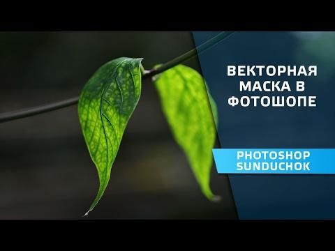 Как сделать векторную маску в фотошопе