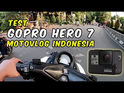 GOPRO HERO 7 BLACK SETTING - MOTOVLOG INDONESIA - NMAX 155 - HYPER SMOOTH
