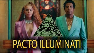 ILLUMINATI VIDEO DE JAY-Z Y BEYONCÉ | APES**T - THE CARTERS (2018)