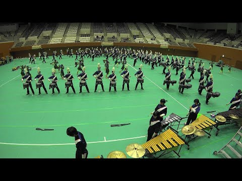Winter Marching Party in KYOTO 2017  TONAN Marching Band The Gryphons
