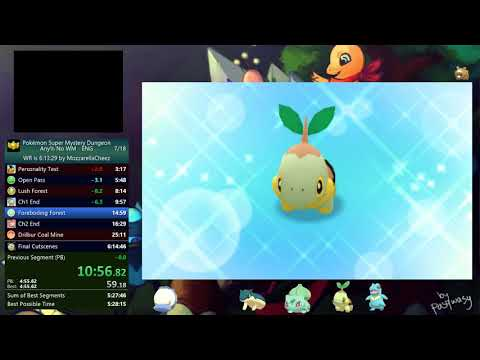 Pokemon Super Mystery Dungeon Any% No WM - 6:08:11 (Current WR)