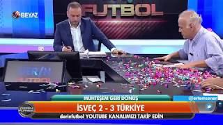Ahmet Çakar'dan İsveç 2 -3 Türkiye maçı yorumu