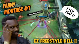 Fanny Montage Skylark #7 | Freestyle Kill Mode | Mobile Legends Bang Bang